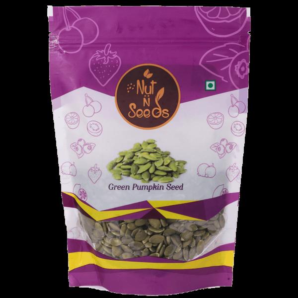 Buy Nut n Seeds - Green Pumpkin Seeds - 250g (High Protein) Online