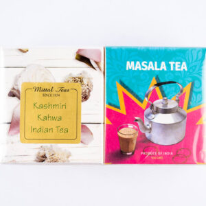 mittal-teas-masala-chai-and-kashmiri-kahwa-chai-combo-200g