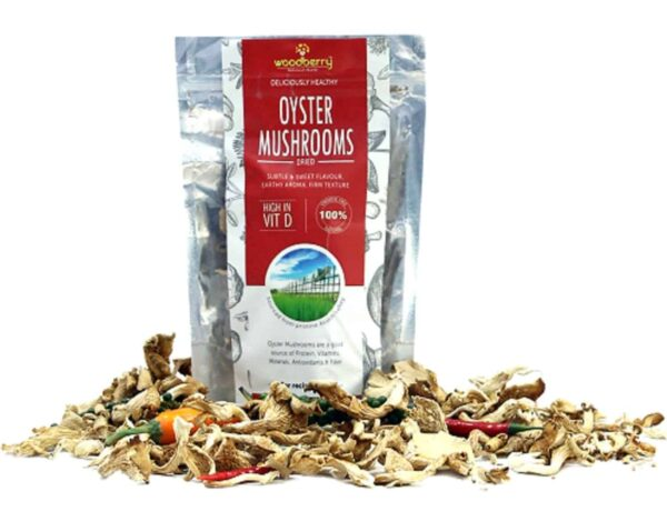 Woodberry Dehydrated Oyster Mushrooms