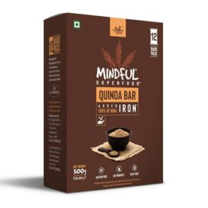 Shop EAT Anytime - Gluten Free Mindful Quinoa Snack Bars (Pack of 12) - 300g Online