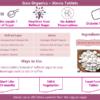 Buy Gaia Organics - Stevia Tablets - 100 Tablets (Natural Sweetener) Online