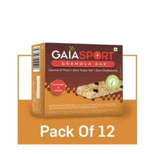 Shop Gaia Organics - Almond & Raisin Snack Bar - 30g Online