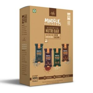 Shop EAT Anytime - Gluten Free Mindful Variety Millet Snack Bars (Pack of 12) - 300g Online
