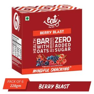 Shop EAT Anytime - Healthy Berry Blast Energy Bars (Pack of 6) - 228g Online