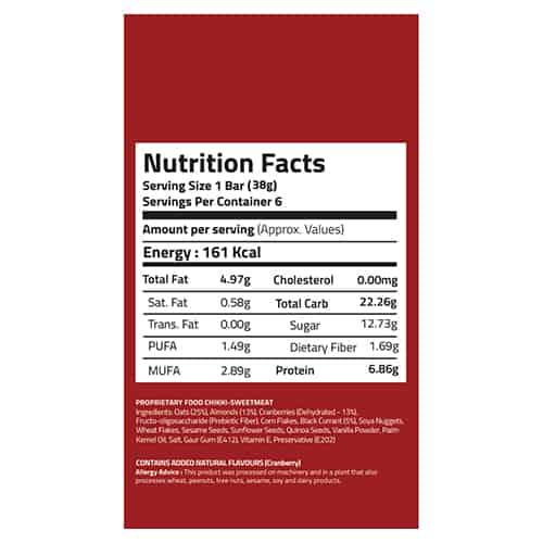 Buy EAT Anytime - Berry Blast Energy Bars (Pack of 6) - 228g Online