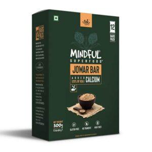 Shop EAT Anytime - Gluten Free Mindful Jowar Snack Bars (Pack of 12) - 300g Online
