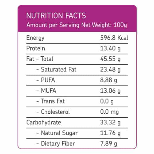 Buy EAT Anytime - Fig & Raisin with Dry Fruits & Nuts Trail Mix (Pack of 2 x 100g) - 200g (100% Natural) Online