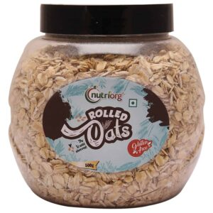 Nutriorg Rolled Oats 500g