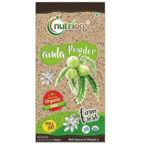 Nutriorg Amla Powder 250g
