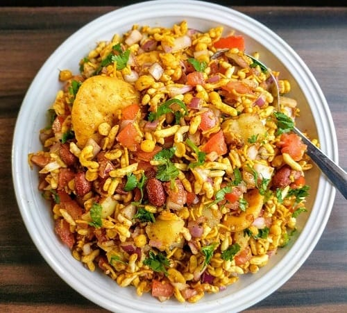 Bhel-Puri-healthy-indian-snack