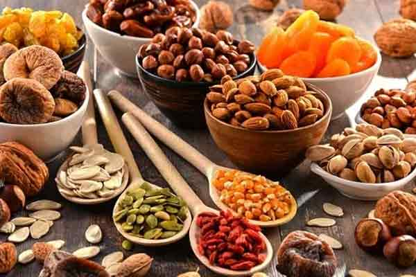 Dry Fruits Evening Food