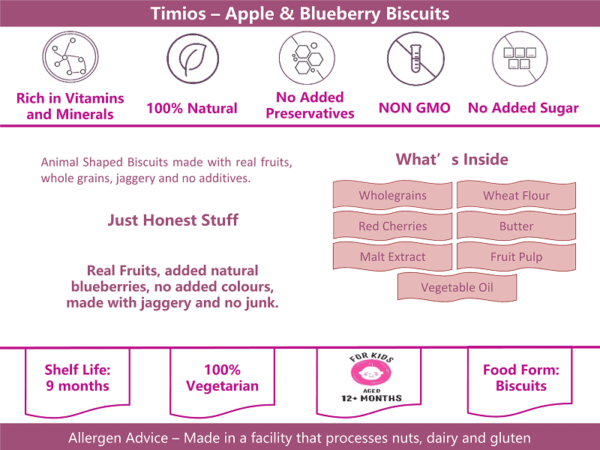 Timios Zookers Apple & Blueberry info