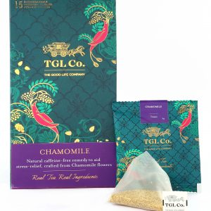 Shop TGL - Chamomile Tea - 16 Tea Bags (Caffeine Free | Stress Reliever) Online