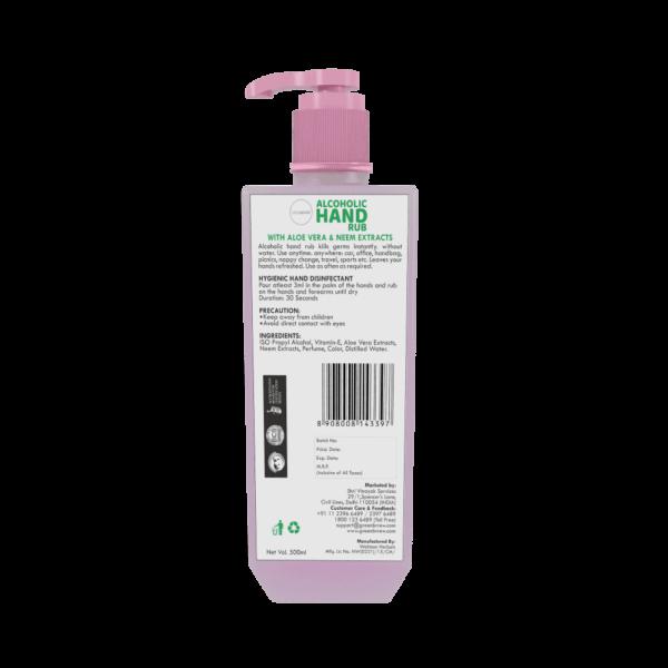 Buy Greenbrrew - Liquid Hand Rub with Vitamin E - 500ml Online