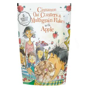 Buy Monsoon Harvest - Cinnamon Oat Clusters & Multigrain Flakes with Apple - 350g (100% Natural) Online