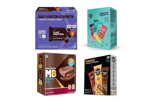 10 Best Protein Bars in India