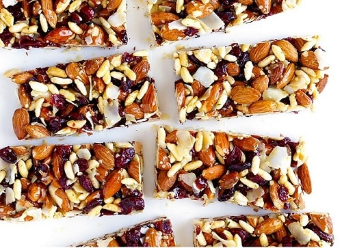 Almonds & Cranberry Protein Bars