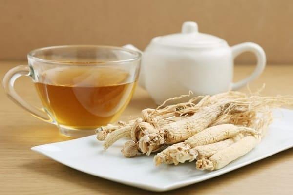 ginseng herbal tea