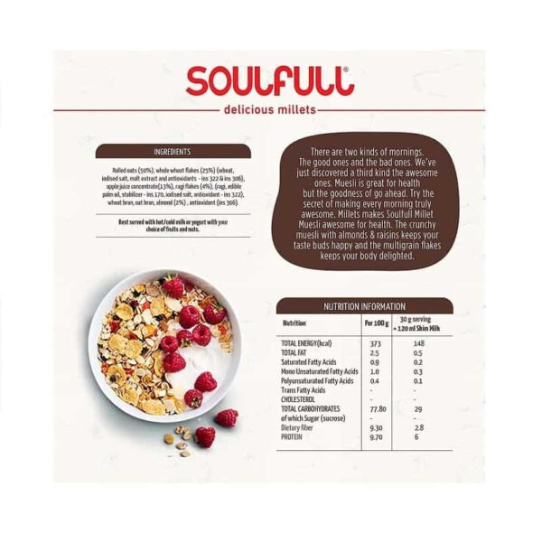Buy Soulfull - Strawberry Fills Ragi Bites - 250g (High Protein | Calcium Rich) Online