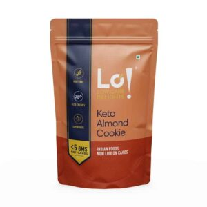 Buy Lo! Foods - Keto Almond Cookie - 96g (No Sugar | No Maida) Online