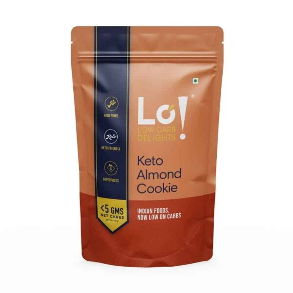 Lo! Foods Keto Almond Cookie 96g