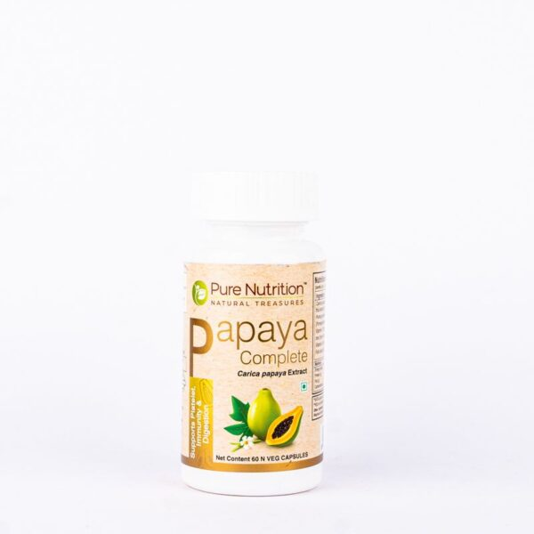pure-nutrition-papaya-complete-60-capsules