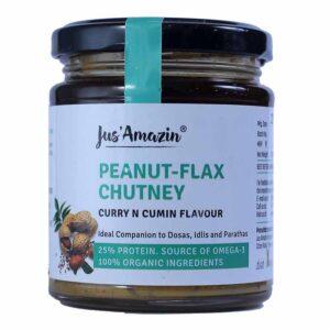 jus-amazin-peanut-flax-chutney-curry-n-cumin-flavour-200g