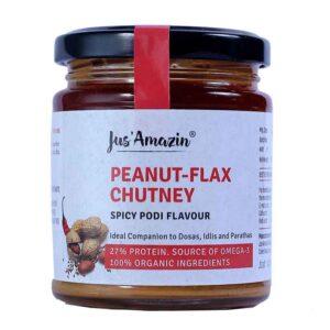 jus-amazin-peanut-flax-chutney-spicy-podi-flavour-200g