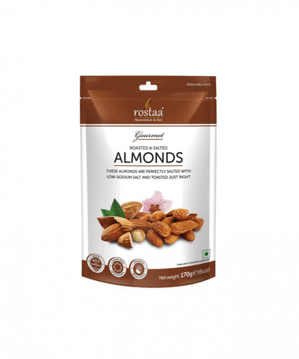Rostaa Roasted & Salted Almond 170g