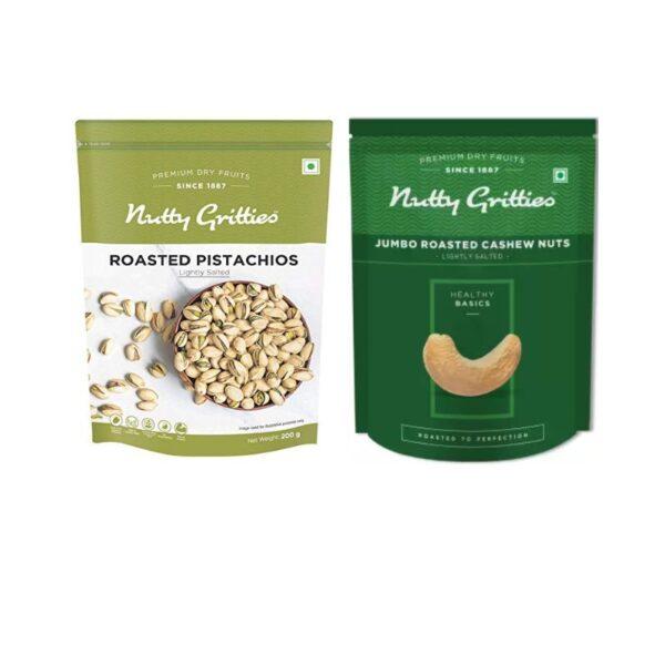 nutty-gritties-jumbo-roasted-cashews-jumbo-roasted-pistachios-200g-combo-pack-of-2