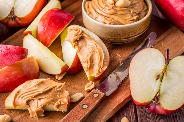 Apple Slices and Nut Butter