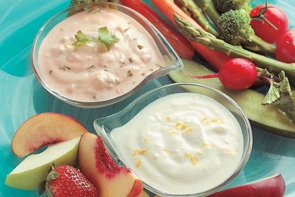 Veggies and Salsa Dip