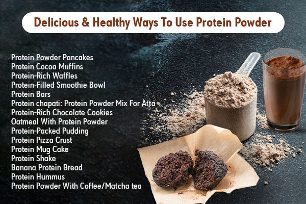 best ways to use protein powder