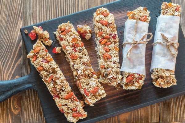 Muesli Peanut Butter Bars
