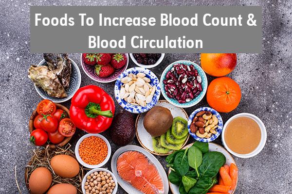 blood increasing foods list