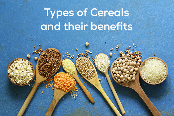 types of cereals