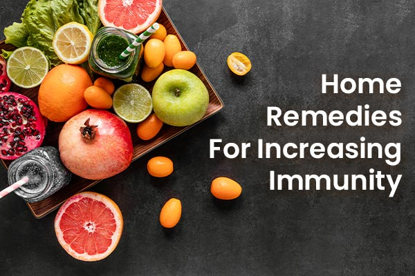 how to increase immunity home remedies