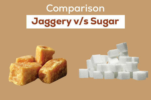 Jaggery and sugar