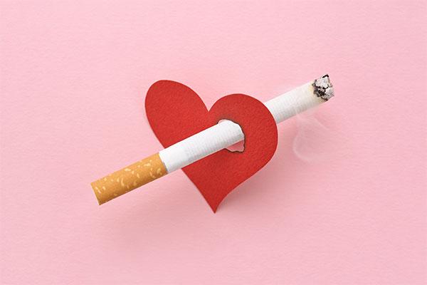 Stop smoking to improve heart health naturally